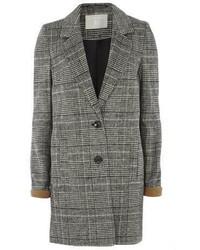 Cappotto scozzese grigio