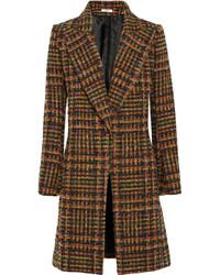 Cappotto scozzese marrone