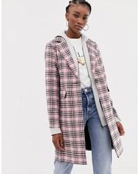 Cappotto scozzese rosa