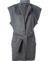 Cappotto senza maniche grigio di Barbara Bui
