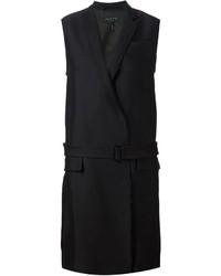 Cappotto senza maniche nero di Rag and Bone