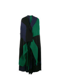 Cappotto senza maniche verde scuro di Pierantoniogaspari