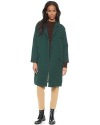 Cappotto verde scuro
