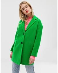 Cappotto verde di Stradivarius