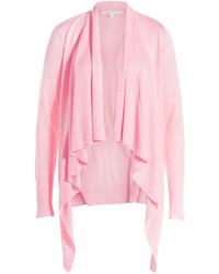 Cardigan aperto rosa