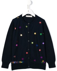 Cardigan blu scuro di Stella McCartney