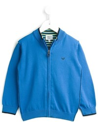 Cardigan blu di Armani Junior