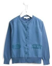 Cardigan blu di Stella McCartney