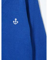 Cardigan blu di Familiar