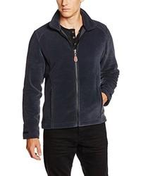 Cardigan con zip blu scuro di Aigle