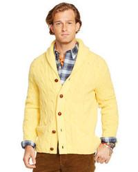 Cardigan giallo