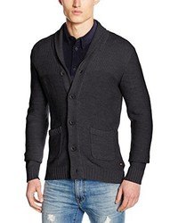Cardigan grigio scuro di Jack & Jones