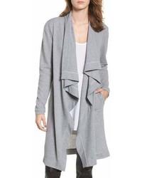Cardigan lungo grigio