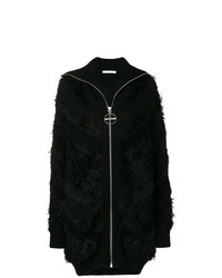 Cardigan lungo nero di Givenchy