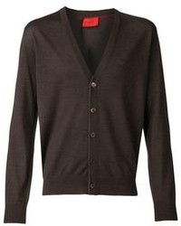 Cardigan marrone scuro
