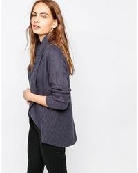 huge discount bb40f 2e2dc Cardigan pesanti blu scuro da donna | Moda donna | Lookastic