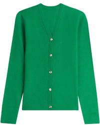 Cardigan verde