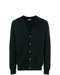 Cardigan verde scuro di Lanvin