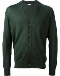 Cardigan verde scuro di Tomas Maier