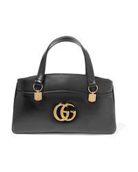 Cartella in pelle nera di Gucci