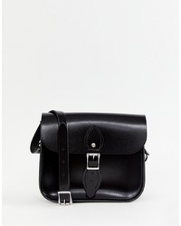 Cartella in pelle nera di Leather Satchel Company
