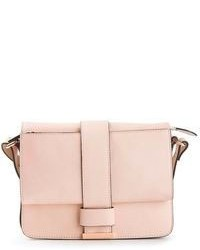 Cartella in pelle rosa