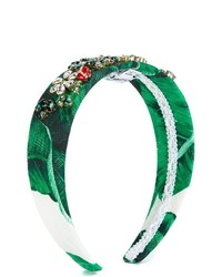 Cerchietto verde di Dolce & Gabbana