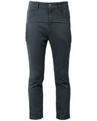 Chino di lana grigio scuro