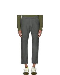 Chino di lana grigio scuro di Barena
