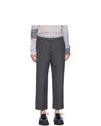 Chino di lana grigio scuro di Oamc