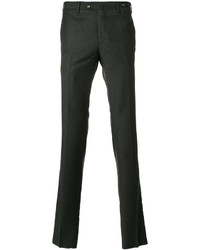 Chino di lana grigio scuro di Pt01