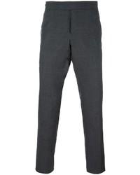 Chino di lana grigio scuro di Thom Browne