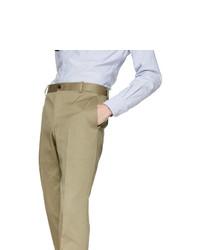 Chino marrone chiaro di Thom Browne