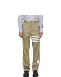 Chino marrone chiaro di Thom Browne