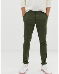 Chino verde oliva di Selected Homme