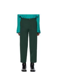 Chino verde scuro di Balenciaga