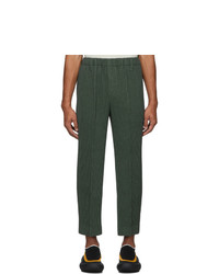 Chino verde scuro di Homme Plissé Issey Miyake