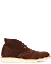 Chukka in pelle bordeaux di Red Wing Shoes