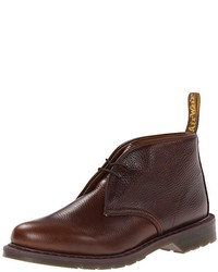 Chukka in pelle marrone scuro