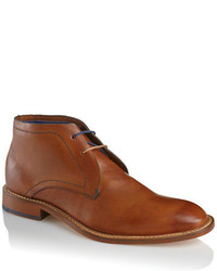 Chukka in pelle marroni