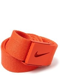 Cintura di tela arancione