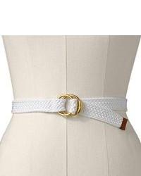 Cintura di tela bianca