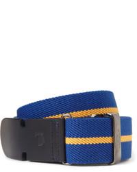 Cintura di tela blu