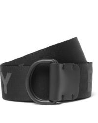 Cintura di tela nera di Burberry