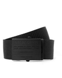 Cintura di tela nera di Maison Margiela
