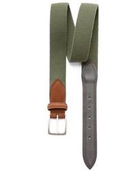 Cintura di tela verde oliva