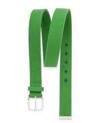 Cintura di tela verde