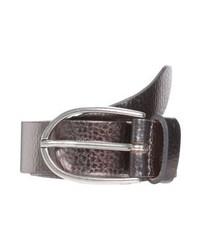 Cintura in pelle argento di Vanzetti