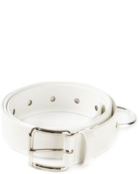 Cintura in pelle bianca di Acne Studios