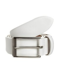Cintura in pelle bianca di Lloyd Men's Belts